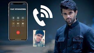 Vijay Devarakonda Sudden Surprise Phone Call To His Fan    Vijay Devarakonda's Love Towards His Fan