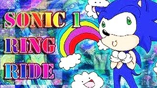 SONIC HACKS # 23 ★ Sonic - The Ring Ride 1-4 [HD]