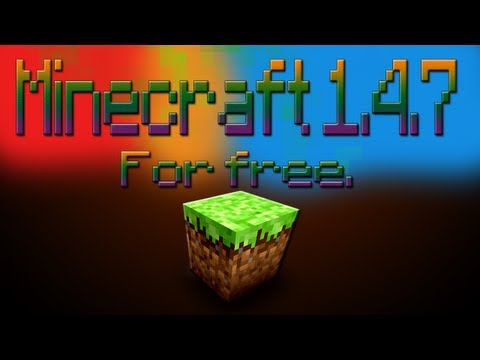 Download Minecraft 1.4.7 Full version Free (HD) No surveys