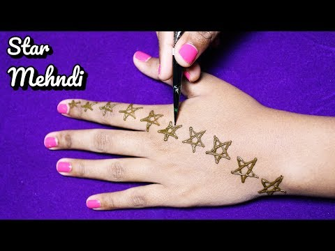 New Fashion Star Mehndi Design { Henna Design } - New and Gorgeous Mehndi Designs for hands 2018