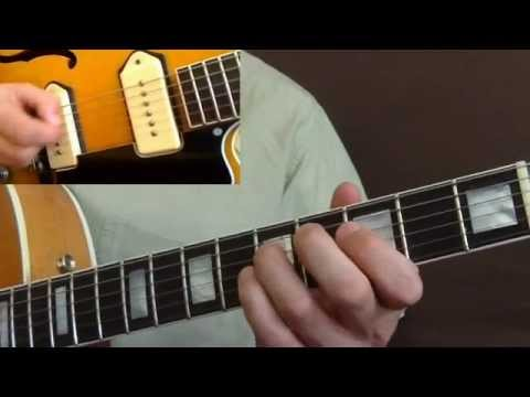 Rockabilly Guitar Lesson - Please Don't Leave Me - Johnny Burnette