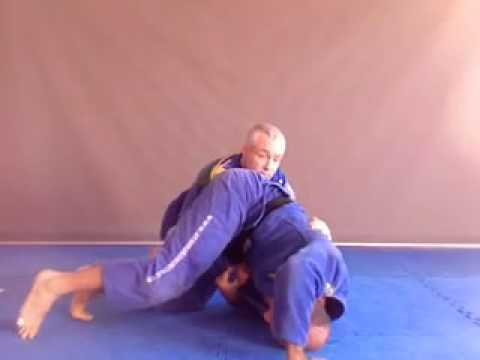 BJJ Grappling tips on omoplata from open guard - by John Will & David Meyer