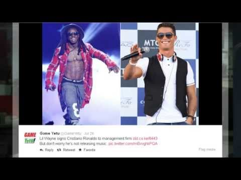 Lil Wayne and Cristiano Ronaldo to launch first project together