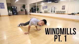 How to Breakdance | Beginner Windmills Pt. 1 | Power Move Basics