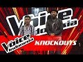 Syahril vs Ava | Knockouts | The Voice Indonesia GTV 2018 thumbnail