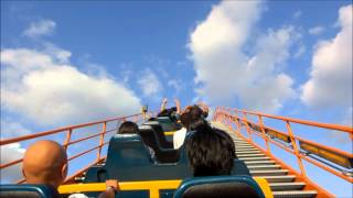 Awesome Roller Coaster Ride - Goliath Six Flags Magic Mountain