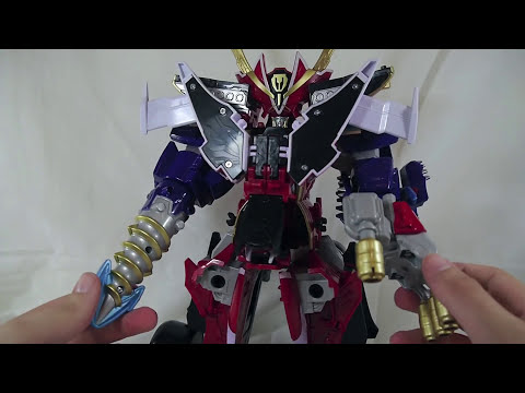 Review: Turbo Falcon Megazord (Power Rangers Super Megaforce)