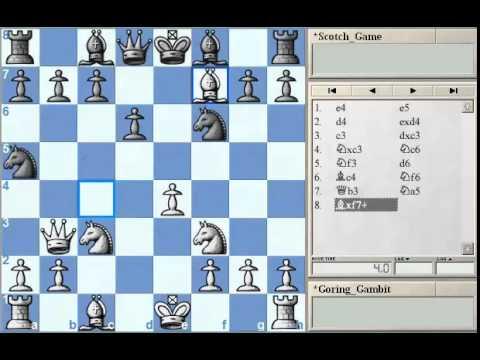 GM Alterman's Gambit Guide - Goring Gambit Part 2 at Chessclub.com
