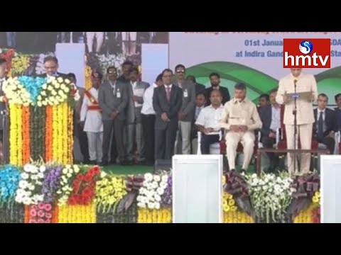 Andhra Pradesh High Court Chief Justice Praveen Kumar Swearing-in Ceremony LIVE  | hmtv