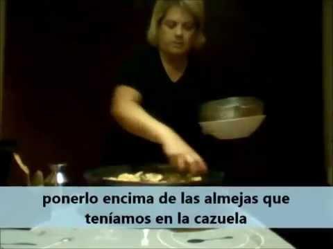 Rape con salsa de Marisco