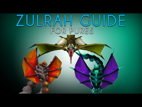 OldSchool RuneScape – Zulrah Pure Guide (1-25 Defense)