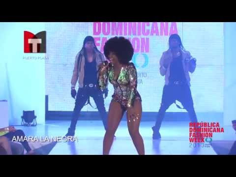 AMARA LA NEGRA en Republica Dominicana FASHION WEEK 2013 VIA Modatotal.TV