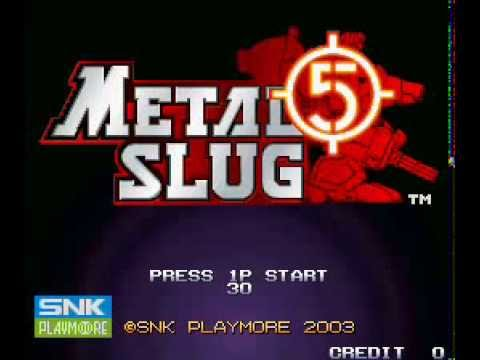 Metal Slug 5 Soundtrack  Zoom Down