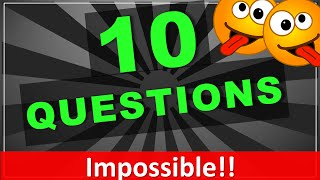 10 Trick Questions your friends will ALWAYS get Wrong!! (with answers)