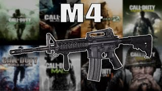The Evolution of The M4 (M4A1 in Every Call of Duty)