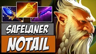 OG.Notail Lone Druid - 7113 MMR | Dota Gameplay