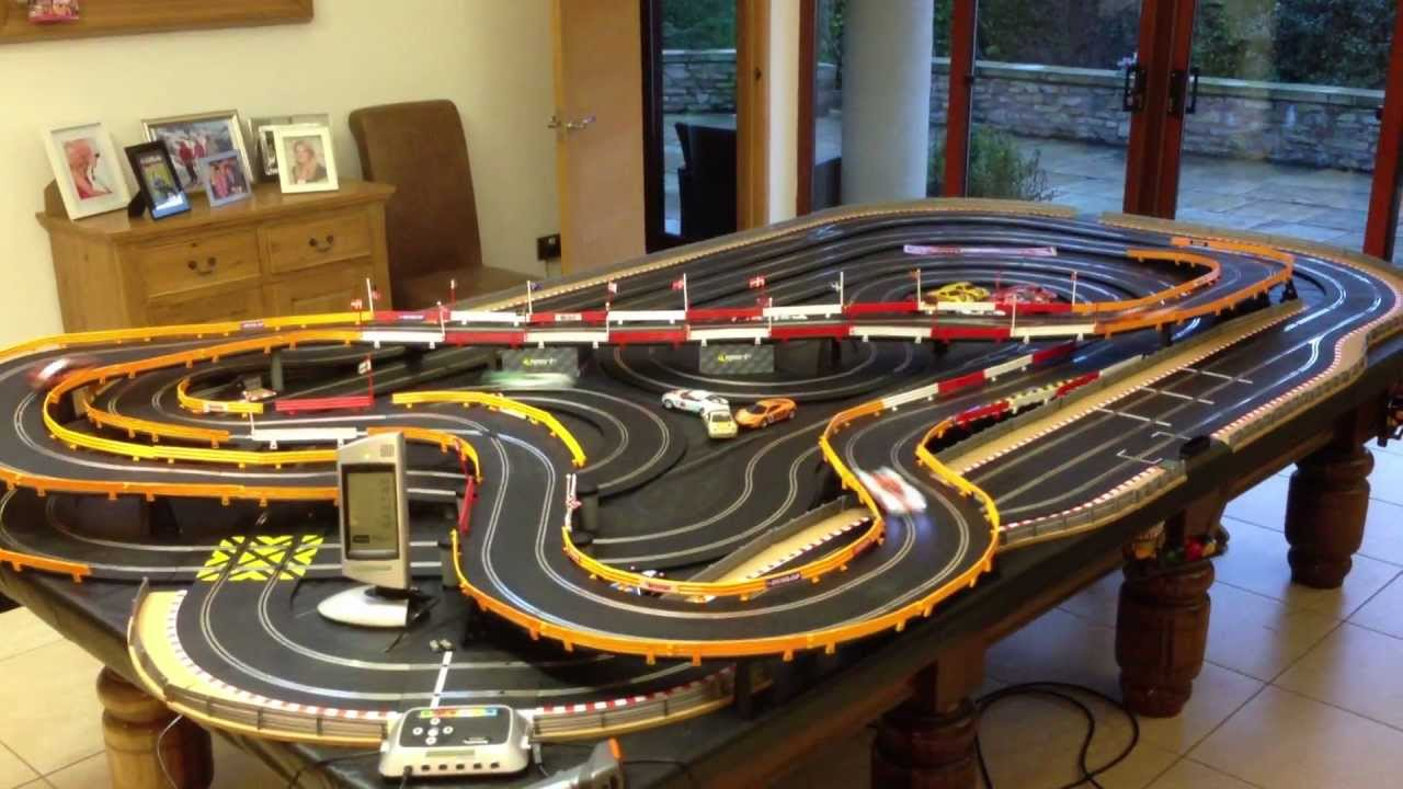 how to clean slot car track