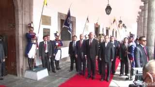 VIDEO: Haiti President Martelly ak Laurent Lamothe vizite Peyi Equateur