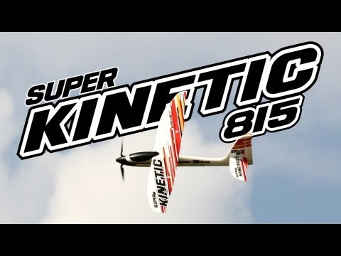 HobbyKing Product Video - Super Kinetic 815 PnF Glider