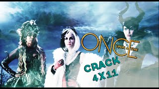 Once Upon a Time Crack! - Heroes and villians | 4x11