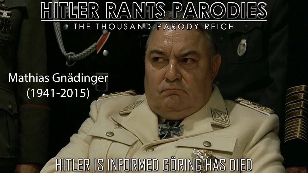 Hitler is informed Göring has died