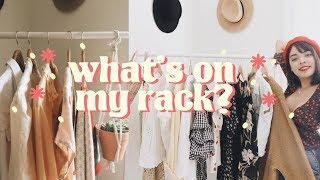 What's On My Clothing Rack? 👚 10 pieces in 10 outfits!