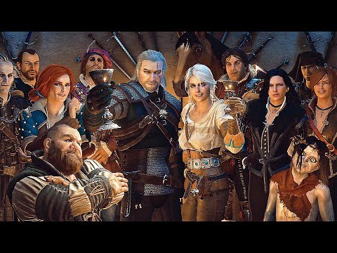 The Witcher - Geralt of Rivia 10th Anniversary Cinematic Trailer 2017