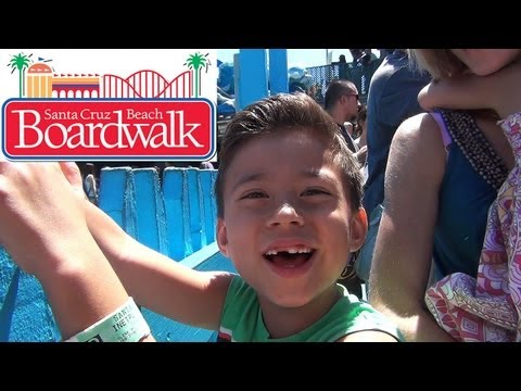 Santa Cruz BEACH BOARDWALK- An EvanTubeHD Family Field trip!