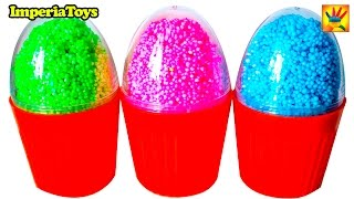 VERY INTERESTING SURPRISE EGGS!!! Foam Clay surprise eggs with toys For Kids For BABY