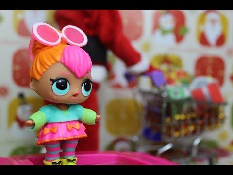 Кукла ЛОЛ СЮРПРИЗ  и Барби  в магазине. ВИДЕО для девочек.