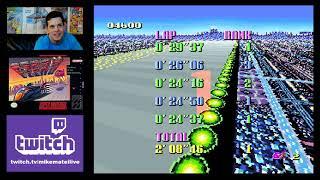 F-Zero (Super Nintendo) Mike Matei Live Stream