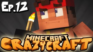 "Minecraft  CRAZY CRAFT 3.0 | Ep 12 : ""TIME TO HIT THE CAVES!!"" (Crazy Craft Modded Survival)"