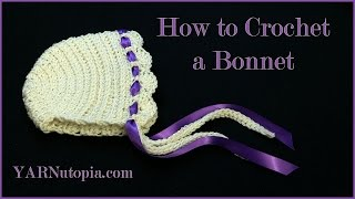 Download How to Crochet a Bonnet 3Gp Mp4