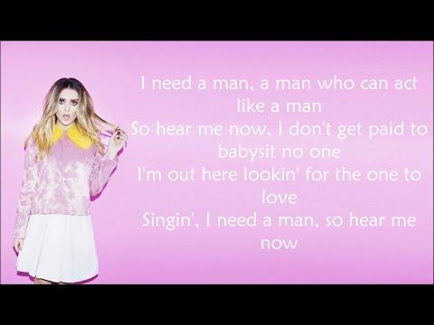 Little Mix ~ You Gotta Not ~ Lyrics (+Audio)