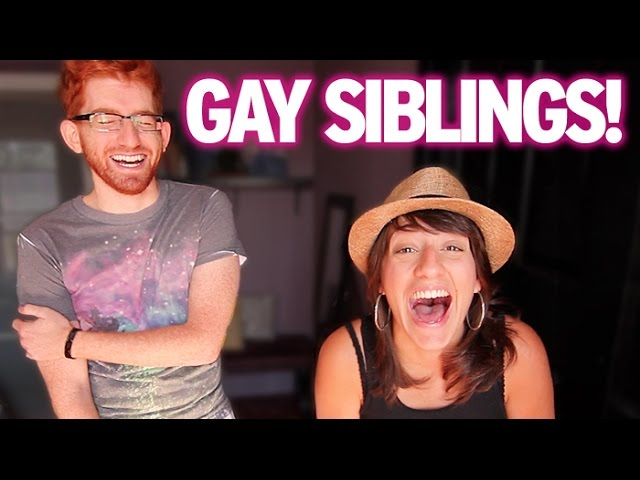 Lesbian Sister & Gay Brother Challenge!