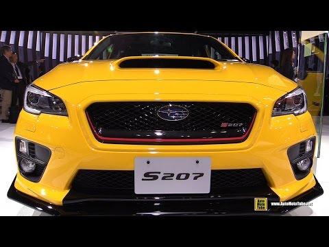 2016 Subaru STI S207 NBR Challange Pack 328hp - Exterior, Interior Walkaround - Tokyo Motor Show