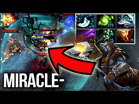 Miracle- 9k MMR Magnus - Full 6-Slotted Carry Style - Dota 2