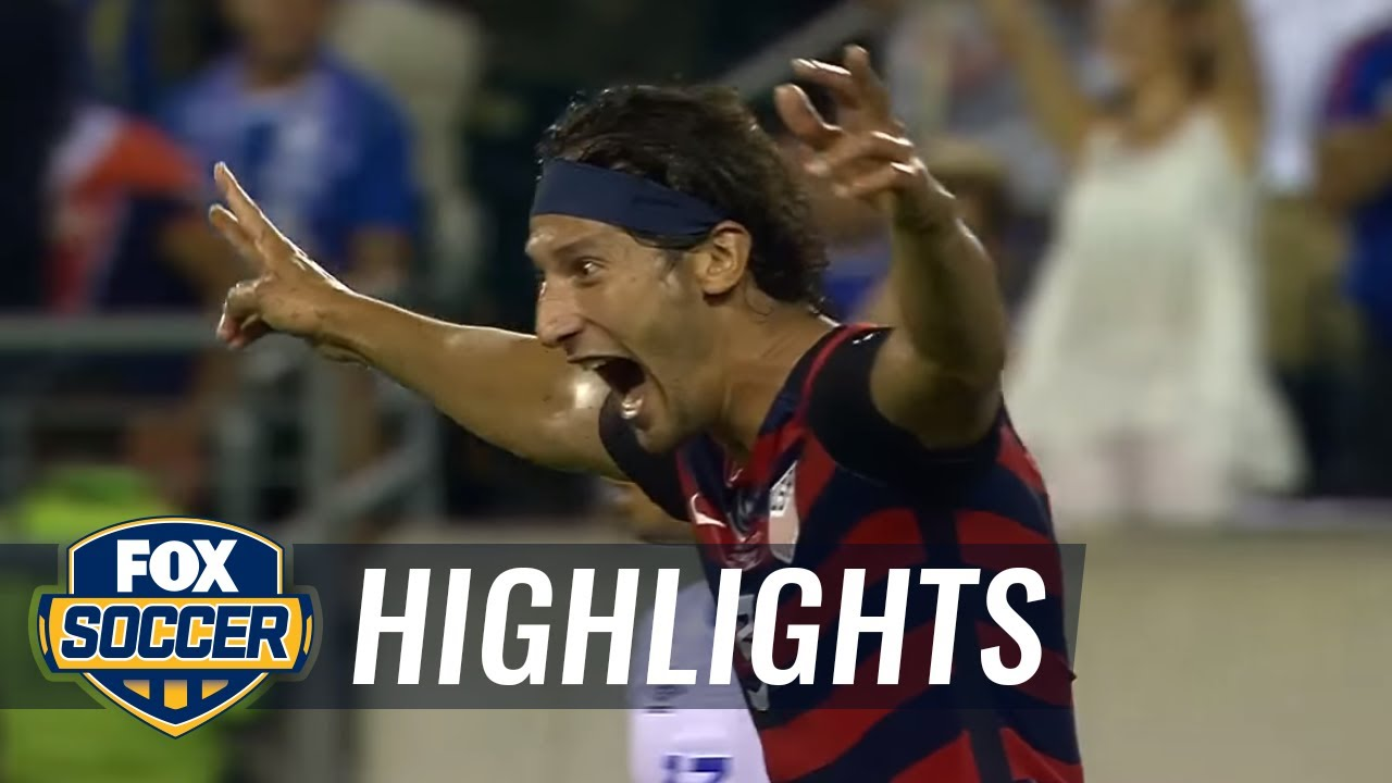 Omar Gonzalez gives USA 1-0 lead against El Salvador   2017 CONCACAF Gold Cup Highlights