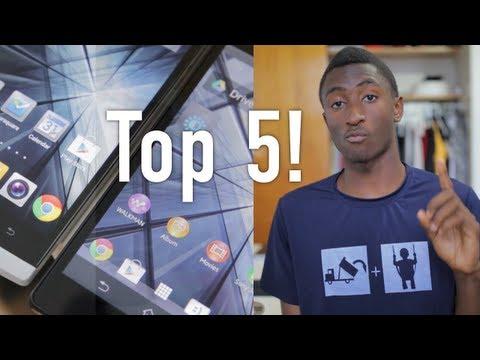 Top 5 1080p Smartphones!