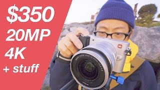 $350 20MP 4K Mirrorless Camera