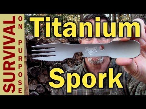 Titanium Spork Comparison - Sonoran Fox vs Light My Fire