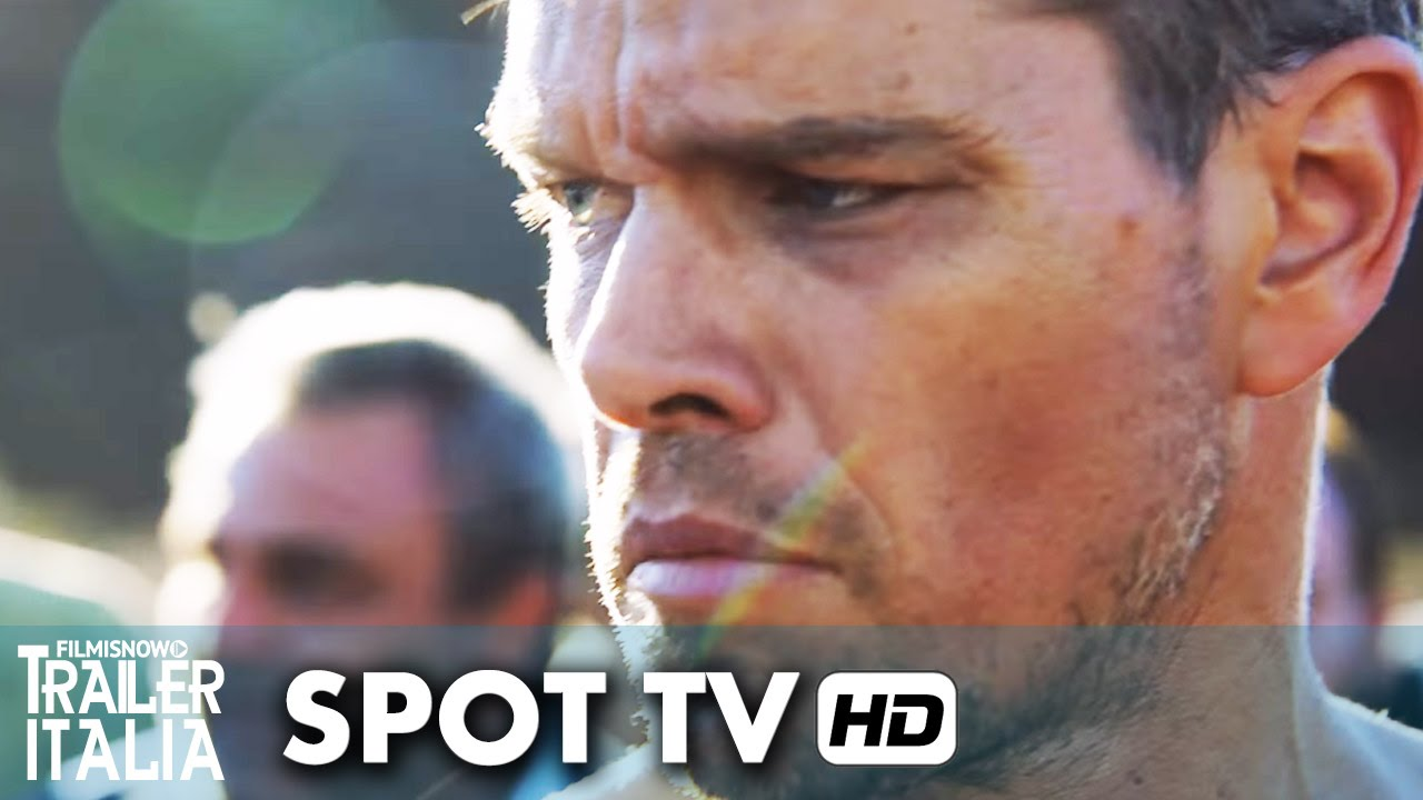 Jason Bourne Spot Tv Super Bowl Italiano - Matt Damon [HD]