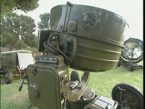 World War II Carbon Arc Anti-Aircraft Searchlight  battle of Los Angeles