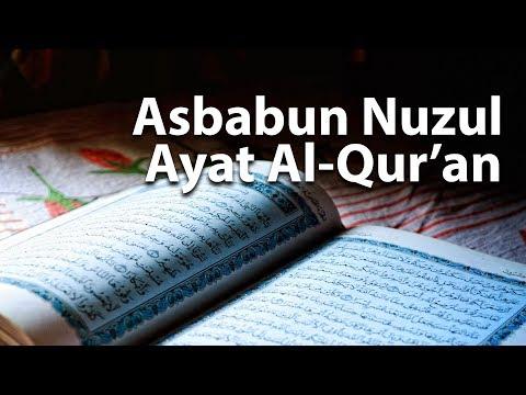 Asbabun Nuzul Ayat al-Qur'an - Poster Dakwah