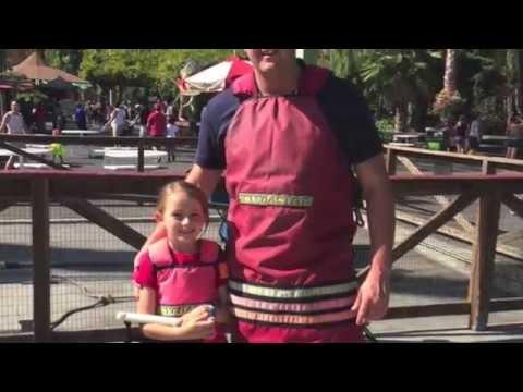 Tessa's 8th Birthday at Six Flags Discovery Kingdom