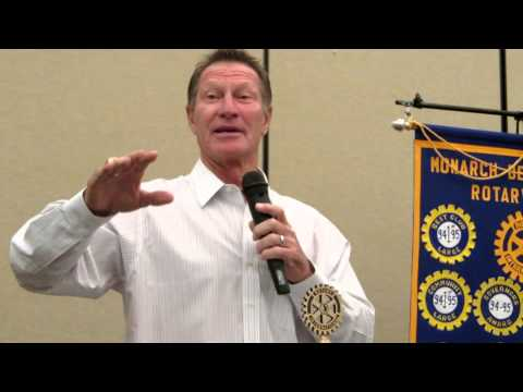 Part 1 of 2: BOBBY GRICH Guest Speaker at Monarch Beach Sunrise Rotary