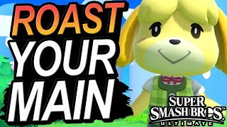 Roasting Your Smash Ultimate Main