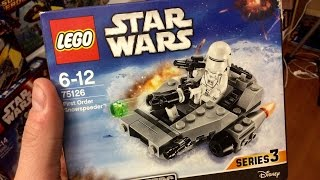 75126 LEGO Microfighters - обзор