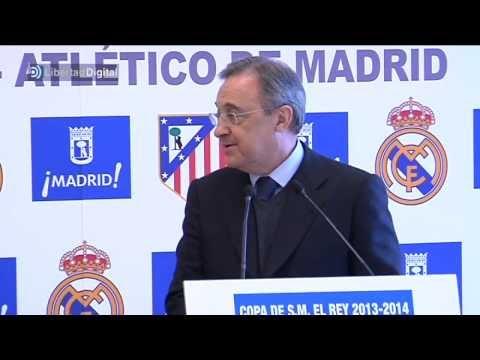 Florentino Pérez y Enrique Cerezo se juntan antes del derbi de Copa del Rey
