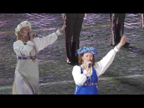 Образцово-показательный оркестр Беларусии на фестивале Спасская башня 2017
